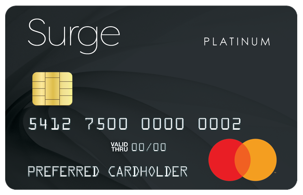 Surge mastercard if you make on time minimum payments and maintain your balances under the credit limits you may be able to build rebuild or reestablish your credit reheart Choice Image